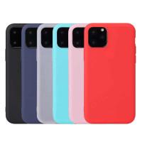 Чехол силикон цветной iPhone 11 Pro