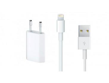 Зарядное устройство и кабель lightning Apple