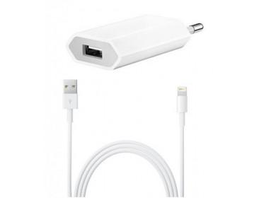 Зарядное Устройство + кабель lighting USB для iPhone (Под оригинал)