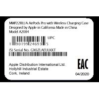 Изготовление наклеек на AirPods
