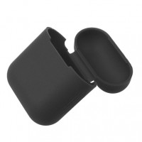 Чехол AirPods Silicon Case Black