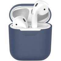 Чехол AirPods Silicon Case Blue