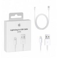Кабель Apple Lightning 8-pin - USB (белый, оригинал) 2м