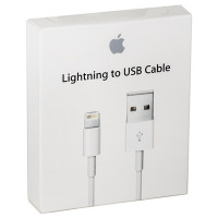 Кабель Apple Lightning 8-pin - USB (белый, оригинал)